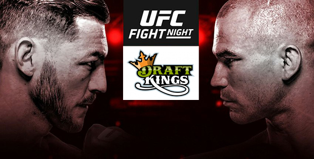 UFC Fight Night 108 DraftKings
